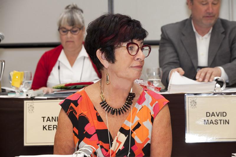 Retiring First VP Susan Swackhammer