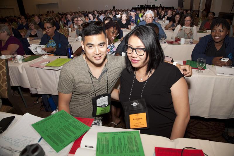 Two delegates