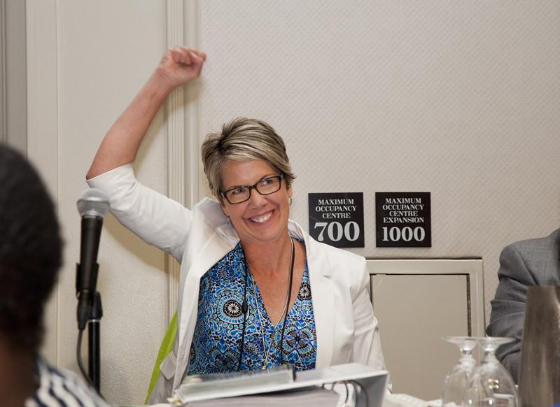 Monica Rusnak elected as Vice-President