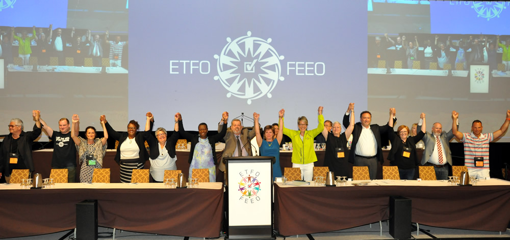 The 2017-2019 ETFO Provincial Executive