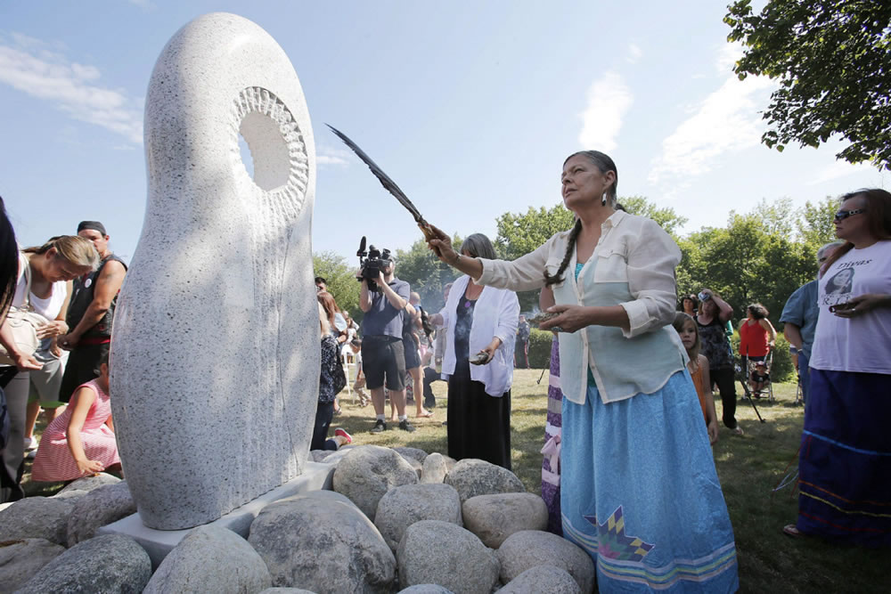 Monument to missing and murdered Indigenous women