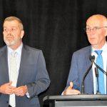 ETFO President Sam Hammond and economist Hugh Mackenzie