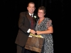 Sam Hammond with Lynda McDougall, Honorary Life Member