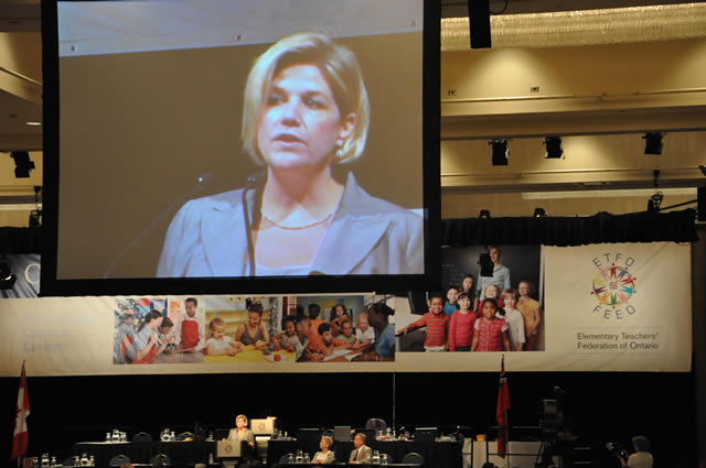 Andrea Horwath, ON NDP Leader